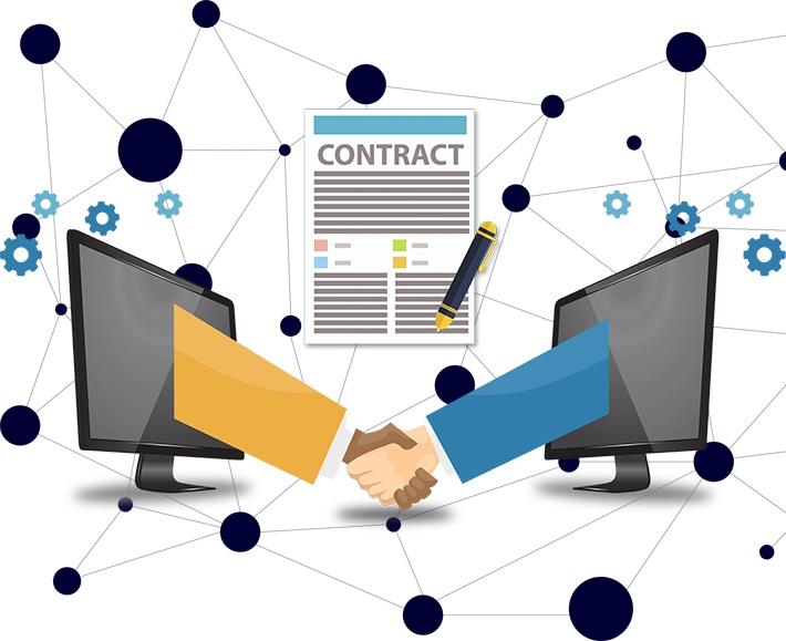 smart contracts E-proQure
