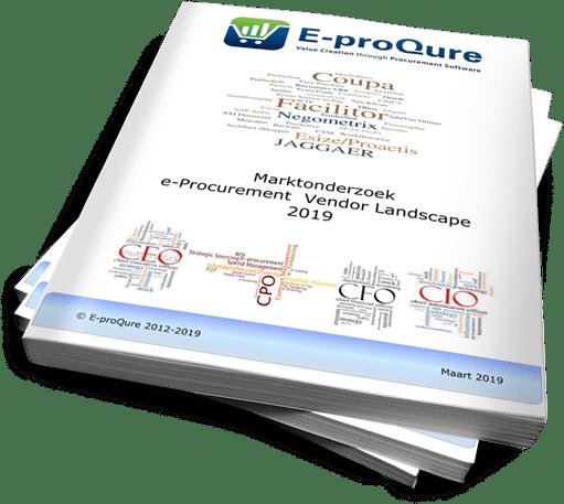 E-proQure Vendor Landscape 2019 onderzoek naar inkoopsoftware en inkoopdigitalisering.