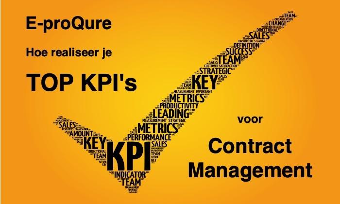 TOP KPI's voor contractmanagement